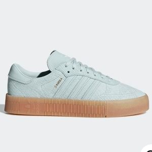 Adidas Sambarose light green